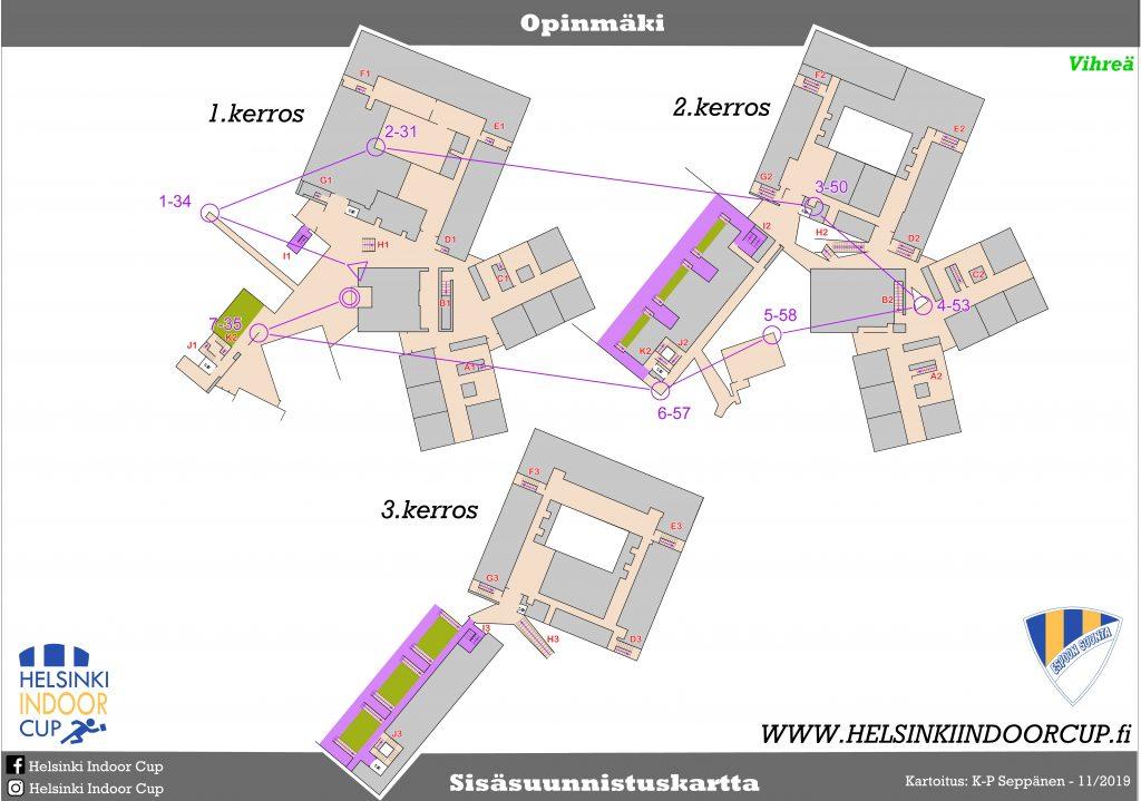 Kartat Helsinki Indoor Cup